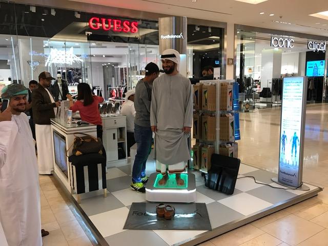 FootBalance Store at Yas Mall, Abu Dhabi