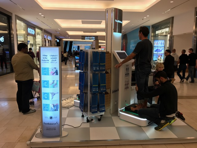 FootBalance Store at Yas Mall, Abu Dhabi